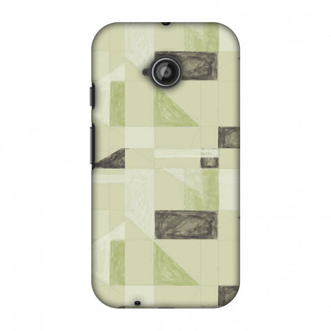 Sooty Pastels - Apple Green Slim Hard Shell Case For Motorola Moto E 2nd Gen