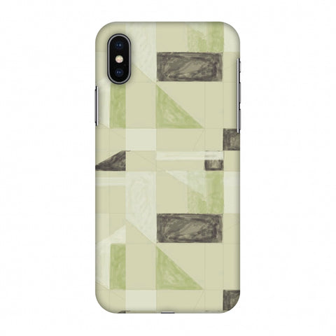 Sooty Pastels - Apple Green Slim Hard Shell Case For Apple iPhone X