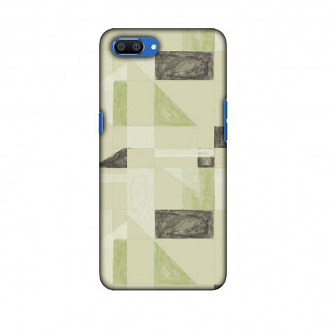 Sooty Pastels - Apple Green Slim Hard Shell Case For Oppo Realme C1