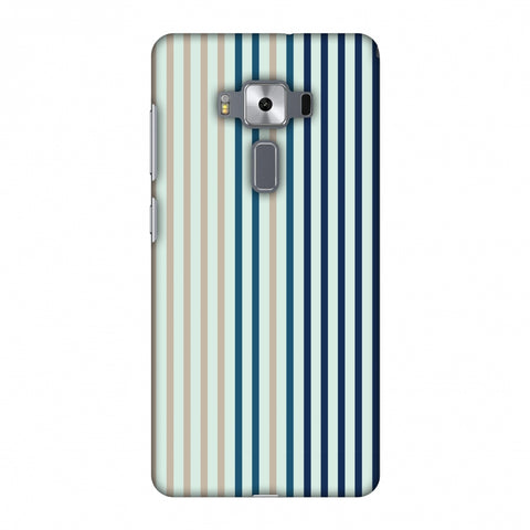 Stripes - Blues Slim Hard Shell Case For Asus Zenfone 3 Deluxe ZS570KL