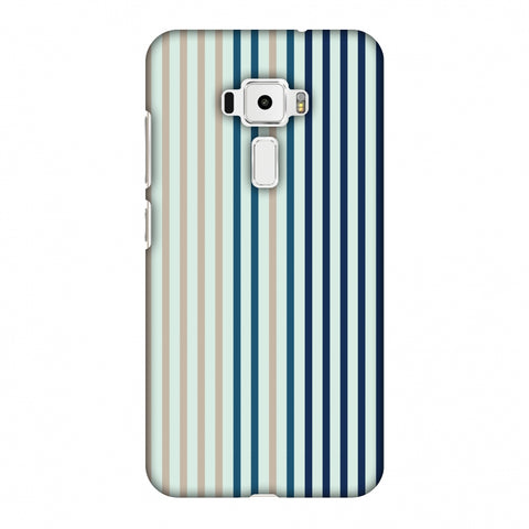 Stripes - Blues Slim Hard Shell Case For Asus Zenfone 3 ZE520KL