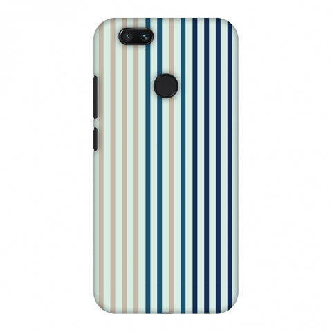 Stripes - Blues Slim Hard Shell Case For Xiaomi MI A1-5X
