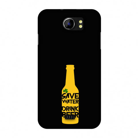 Save Water Drink Beer - Black Slim Hard Shell Case For Micromax Canvas 2 A110