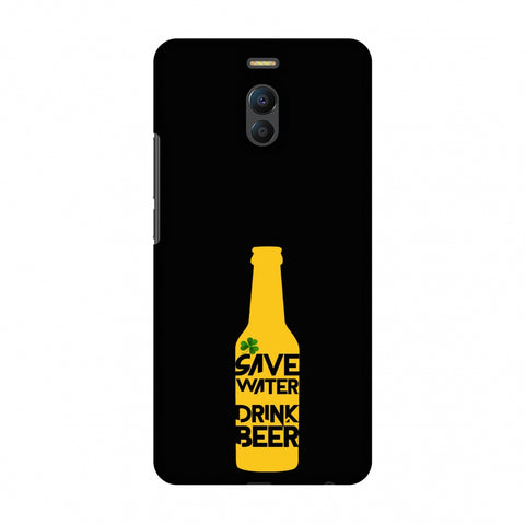 Save Water Drink Beer - Black Slim Hard Shell Case For Meizu Note 6