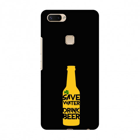 Save Water Drink Beer - Black Slim Hard Shell Case For Vivo X20 Plus