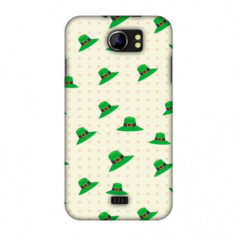 Irish Hats - Green Slim Hard Shell Case For Micromax Canvas 2 A110