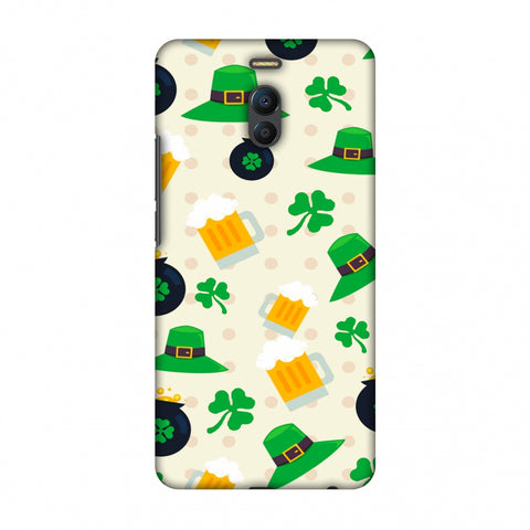 Shamrock, Hats, Beer And Potluck - Green Slim Hard Shell Case For Meizu Note 6