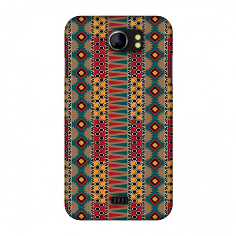 Tribal Stripes - Summer Sun Slim Hard Shell Case For Micromax Canvas 2 A110