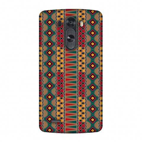 Tribal Stripes - Summer Sun Slim Hard Shell Case For LG G4