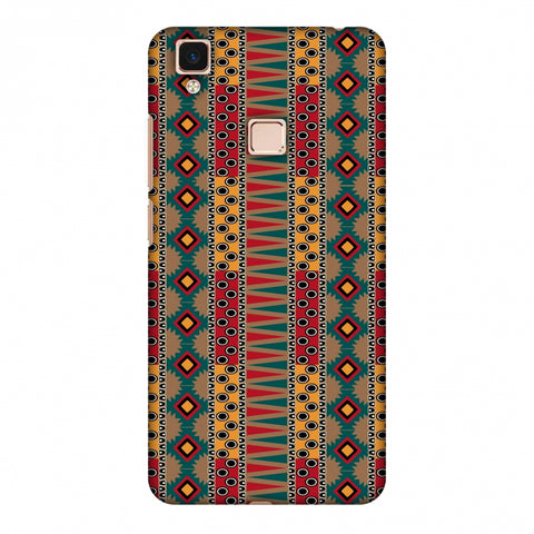 Tribal Stripes - Summer Sun Slim Hard Shell Case For Vivo V3 Max