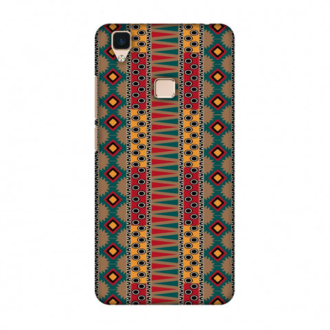 Tribal Stripes - Summer Sun Slim Hard Shell Case For Vivo V3