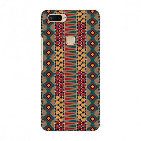 Tribal Stripes - Summer Sun Slim Hard Shell Case For Vivo X20 Plus