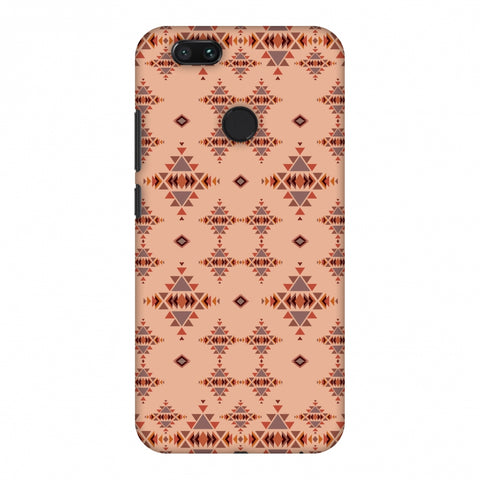 Tribal Tessellations - SAnd And Mustard Slim Hard Shell Case For Xiaomi MI A1-5X