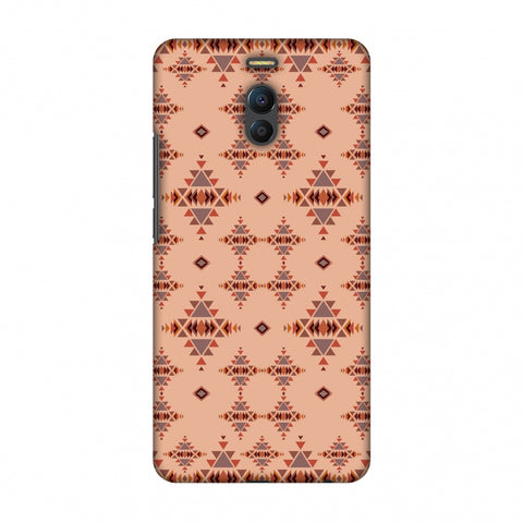 Tribal Tessellations - SAnd And Mustard Slim Hard Shell Case For Meizu Note 6