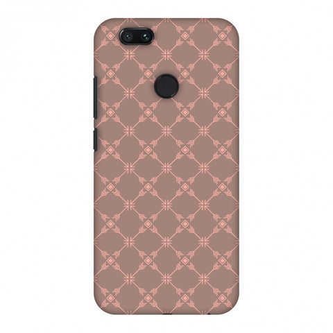 Tribal Mesh - Antique Brass Slim Hard Shell Case For Xiaomi MI A1-5X