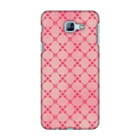 Tribal Mesh - Airbrushed Pink Slim Hard Shell Case For Samsung Galaxy A8 2016