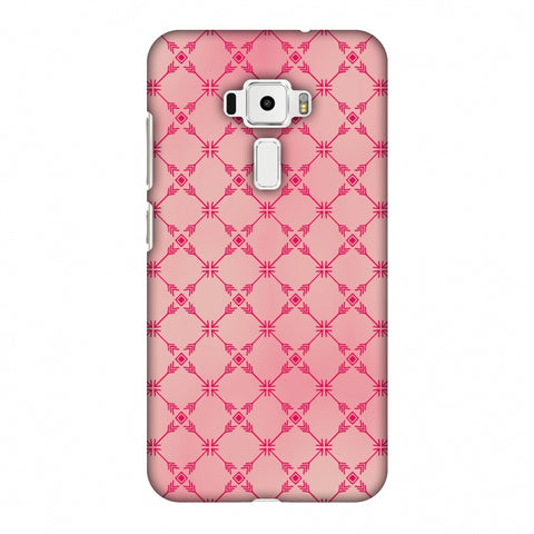Tribal Mesh - Airbrushed Pink Slim Hard Shell Case For Asus Zenfone 3 ZE520KL