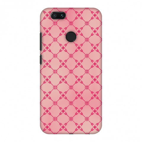 Tribal Mesh - Airbrushed Pink Slim Hard Shell Case For Xiaomi MI A1-5X