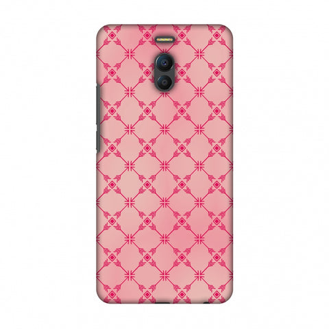 Tribal Mesh - Airbrushed Pink Slim Hard Shell Case For Meizu Note 6