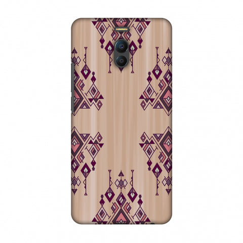 Tribal Dangles - Antique Ruby Slim Hard Shell Case For Meizu Note 6