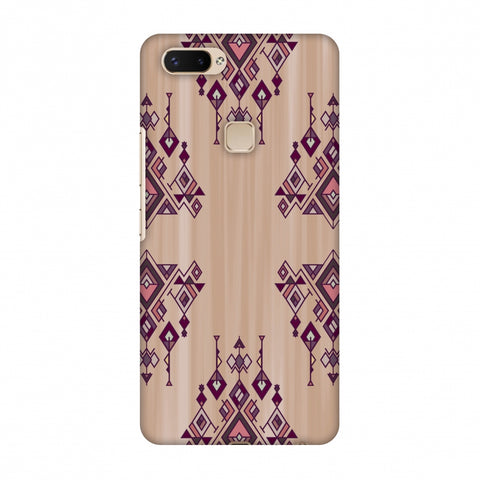 Tribal Dangles - Antique Ruby Slim Hard Shell Case For Vivo X20 Plus