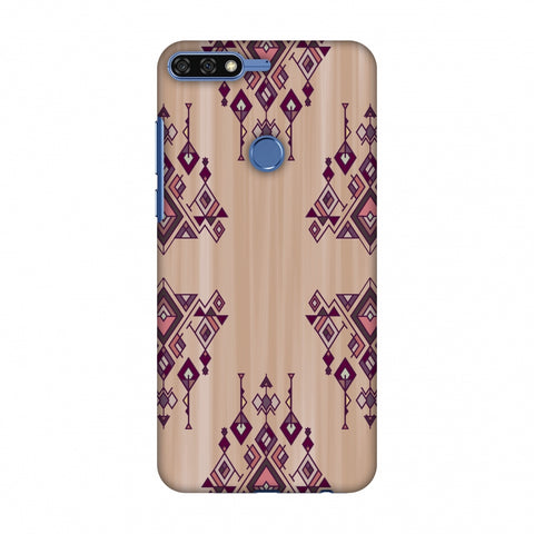 Tribal Dangles - Antique Ruby Slim Hard Shell Case For Huawei Honor 7C