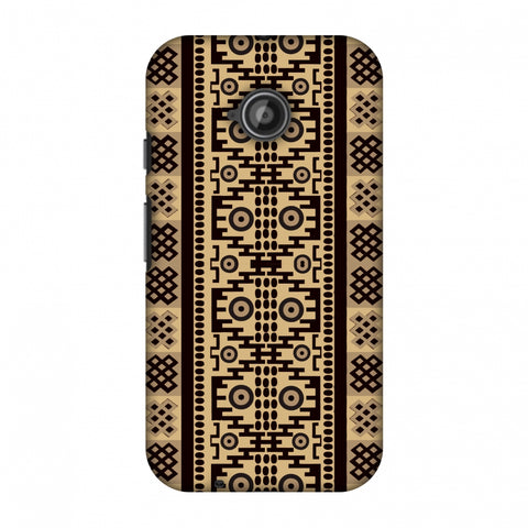 Stripes Of Culture - SAndstone Slim Hard Shell Case For Motorola Moto E 2nd Gen