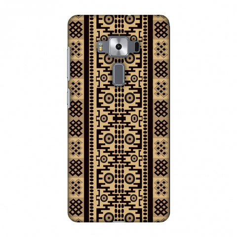 Stripes Of Culture - SAndstone Slim Hard Shell Case For Asus Zenfone 3 Deluxe ZS570KL