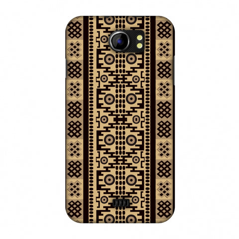 Stripes Of Culture - SAndstone Slim Hard Shell Case For Micromax Canvas 2 A110