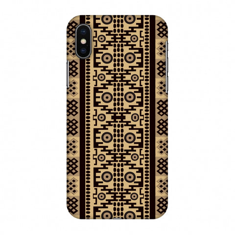 Stripes Of Culture - SAndstone Slim Hard Shell Case For Apple iPhone X