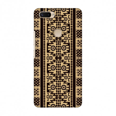 Stripes Of Culture - SAndstone Slim Hard Shell Case For Vivo X20 Plus