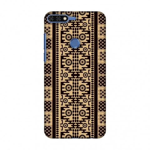 Stripes Of Culture - SAndstone Slim Hard Shell Case For Huawei Honor 7C