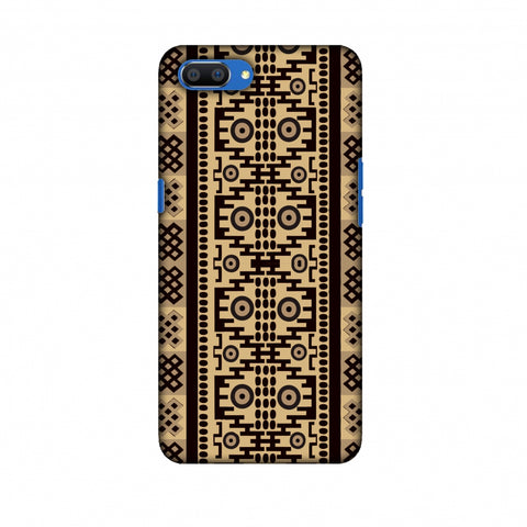 Stripes Of Culture - SAndstone Slim Hard Shell Case For Oppo Realme C1
