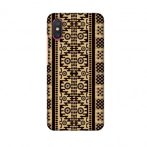 Stripes Of Culture - SAndstone Slim Hard Shell Case For Xiaomi Mi 8 Pro