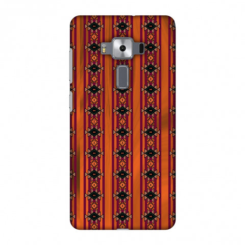 Tribal Repeats - Bright Mustard Slim Hard Shell Case For Asus Zenfone 3 Deluxe ZS570KL