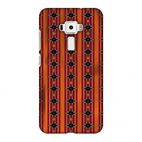Tribal Repeats - Bright Mustard Slim Hard Shell Case For Asus Zenfone 3 ZE520KL