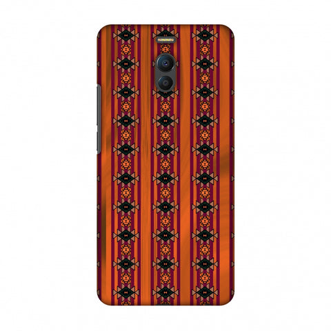 Tribal Repeats - Bright Mustard Slim Hard Shell Case For Meizu Note 6