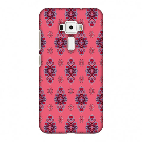 Tribal Florals - Bright Pink Slim Hard Shell Case For Asus Zenfone 3 ZE520KL