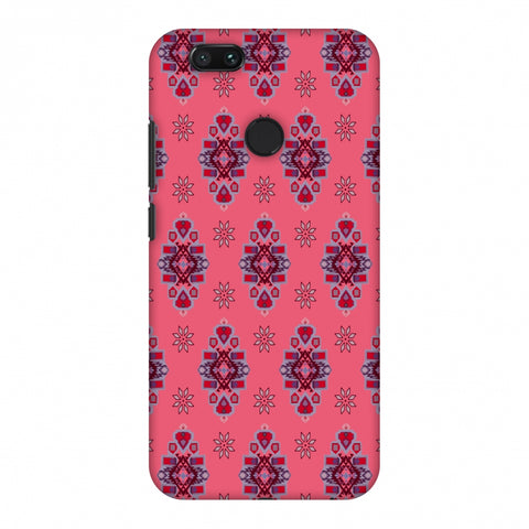 Tribal Florals - Bright Pink Slim Hard Shell Case For Xiaomi MI A1-5X