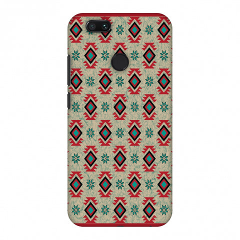 Cool Tribals - Teal And Red Slim Hard Shell Case For Xiaomi MI A1-5X