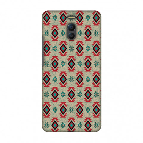 Cool Tribals - Teal And Red Slim Hard Shell Case For Meizu Note 6