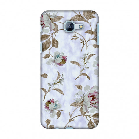 TextuRed Roses - Lavender And Pearl White Slim Hard Shell Case For Samsung Galaxy A8 2016
