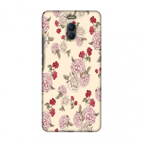 Dahlia And Rose - Cream Slim Hard Shell Case For Meizu Note 6