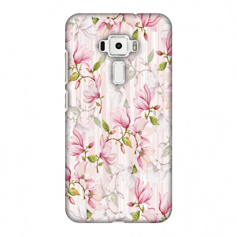 Flowers And Buds - Baby Pink Slim Hard Shell Case For Asus Zenfone 3 ZE520KL