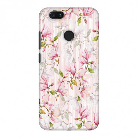 Flowers And Buds - Baby Pink Slim Hard Shell Case For Xiaomi MI A1-5X