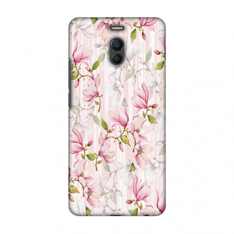 Flowers And Buds - Baby Pink Slim Hard Shell Case For Meizu Note 6