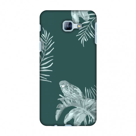 Elements Of Tropical - Teal Slim Hard Shell Case For Samsung Galaxy A8 2016