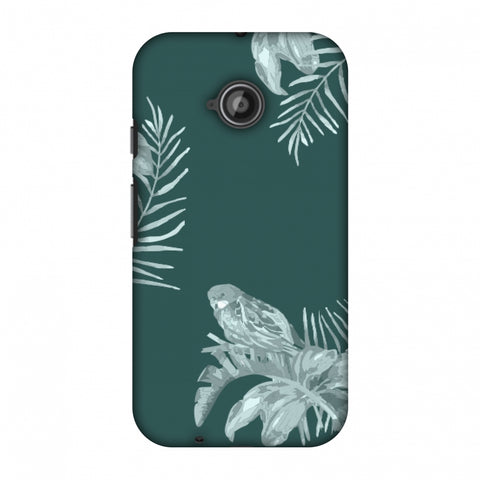 Elements Of Tropical - Teal Slim Hard Shell Case For Motorola Moto E 2nd Gen