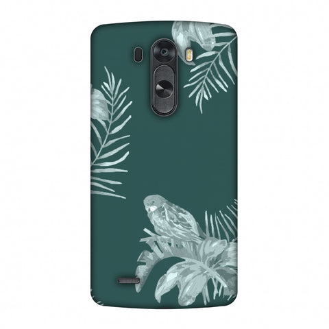 Elements Of Tropical - Teal Slim Hard Shell Case For LG G4