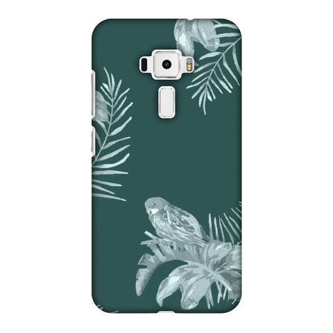 Elements Of Tropical - Teal Slim Hard Shell Case For Asus Zenfone 3 ZE520KL